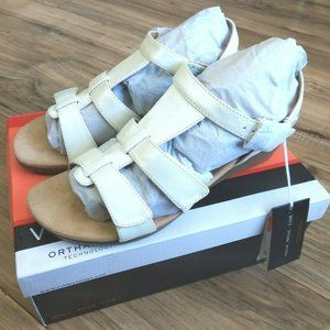 Vionic Orthaheel Glenda Wedge Sandals Womens 9